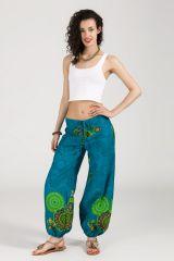 Pantalon Femme pour l\'été en coton agréable et fluide Aurélie