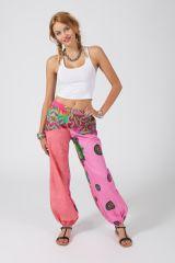 Pantalon Femme pour l\'été en coton léger et souple Laura