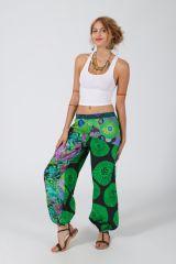 Pantalon Femme pour l\'été fluide en coton Cynthia