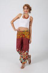 Pantalon Femme pour l\'été imprimé et coloré Julianna