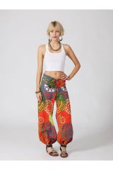 Pantalon Femme pour l\'été original effet bouffant Louisa