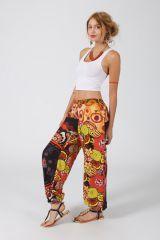 Pantalon Femme pour l\'été très coloré style babacool Engy