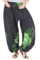 Pantalon femme ronde avec imprimé floral fantaisie Galla 295209