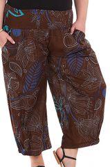 Pantalon femme ronde fashion ethnique Bao 281856