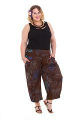 Pantalon femme ronde fashion ethnique Bao 281857