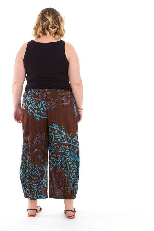 Pantalon femme ronde fashion ethnique Bao 281858
