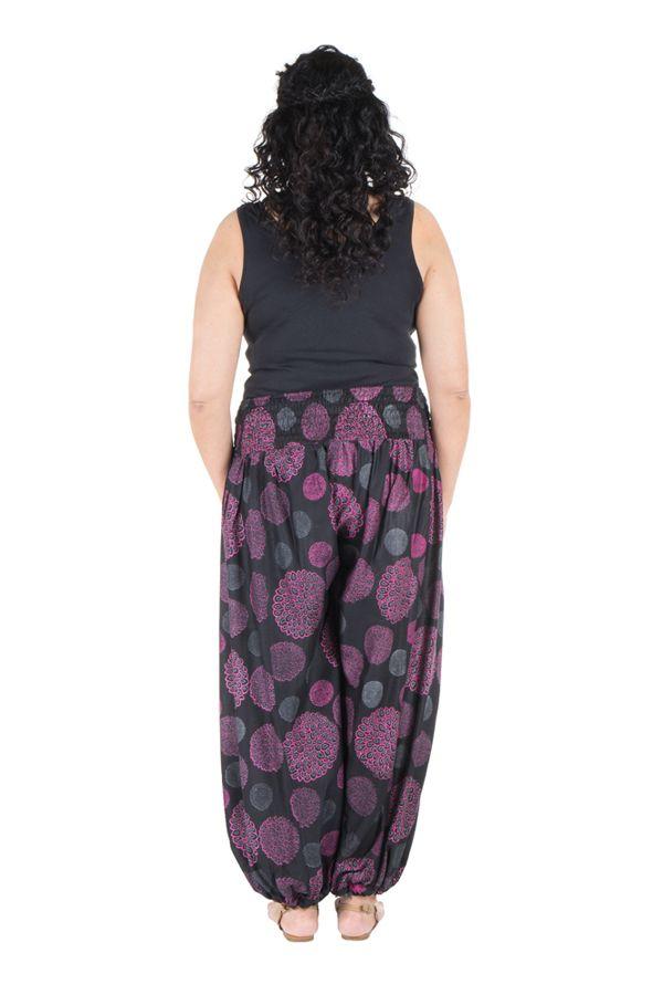 pantalon femme ronde look vintage et imprim galla. Black Bedroom Furniture Sets. Home Design Ideas
