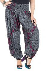 Pantalon femme ronde style décontracté et imprimé Galla 295161