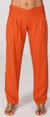 Pantalon femme taille basse Original et Ethnique Giulio Rouille 282324
