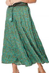 Pantalon femme taille élastique style hippie chic Michiko