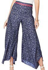 Pantalon femme tendance fluide chic été ample fleurs Nanase
