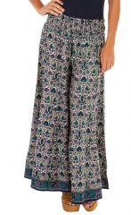 Pantalon fluide et coloré look bohème léger il est idéal l'été Lua 312969