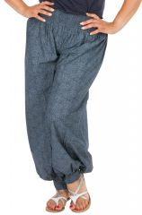 Pantalon fluide et léger pour femme grande taille Linia