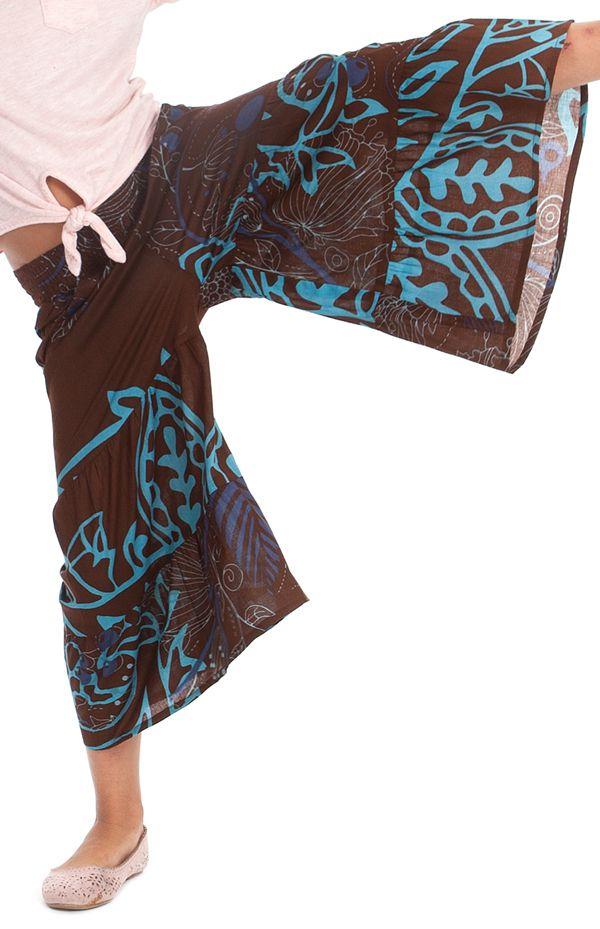Pantalon fluide Imprimé et Original pour Enfant Berlioz Brun et Bleu 279923