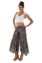 Pantalon fluide original avec coupe asymétrique Maureen 289350