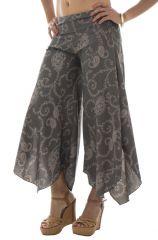 Pantalon fluide original avec coupe asymétrique Maureen 291869