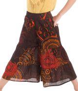 Pantalon fluide pour Enfant Imprimé et Original Berlioz Orange 279917