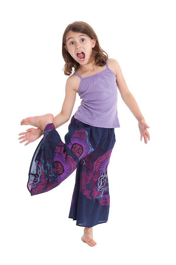 Pantalon fluide pour Enfant Imprimé et Original Berlioz Violet 279911