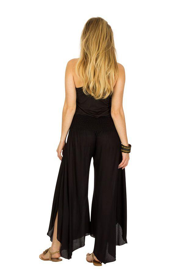 pantalon fluide style hippie coupe asym trique arastou. Black Bedroom Furniture Sets. Home Design Ideas