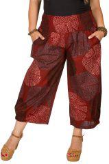 Pantalon fluide taille élastiquée femme grande taille Diego 308083