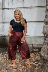 Pantalon fluide taille élastiquée femme grande taille Diego 308086