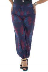 Pantalon grande taille avec imprimé original et coloré Katsy 291912
