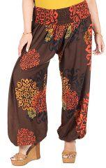 Pantalon grande taille bouffant avec élastique à la taille Galla 295097