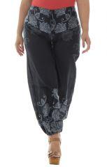 Pantalon grande taille coupe bouffante élastiqué aux chevilles Amazone 291900