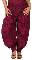 Pantalon grande taille femme taille élastiquée Hisae