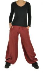 Pantalon gulika bordeau 266317