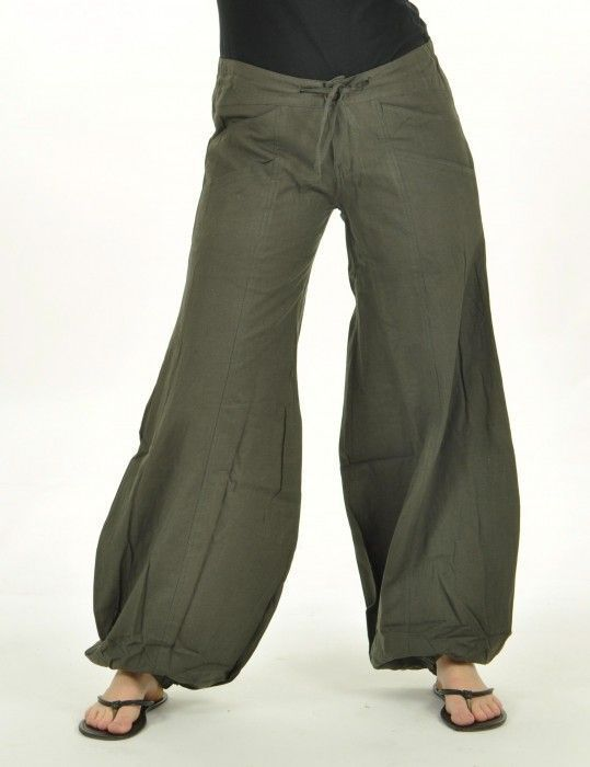 Pantalon gulika gris 237302