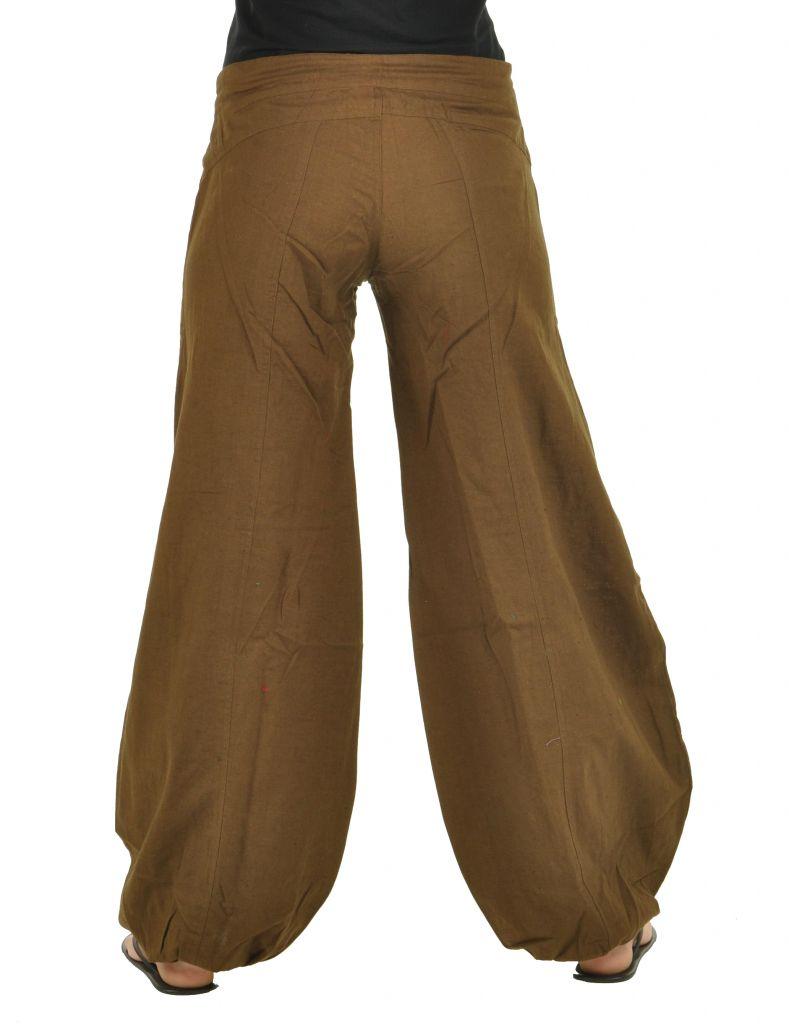 Pantalon gulika marron 266322