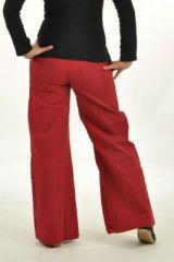 Pantalon gulika rouge 252711