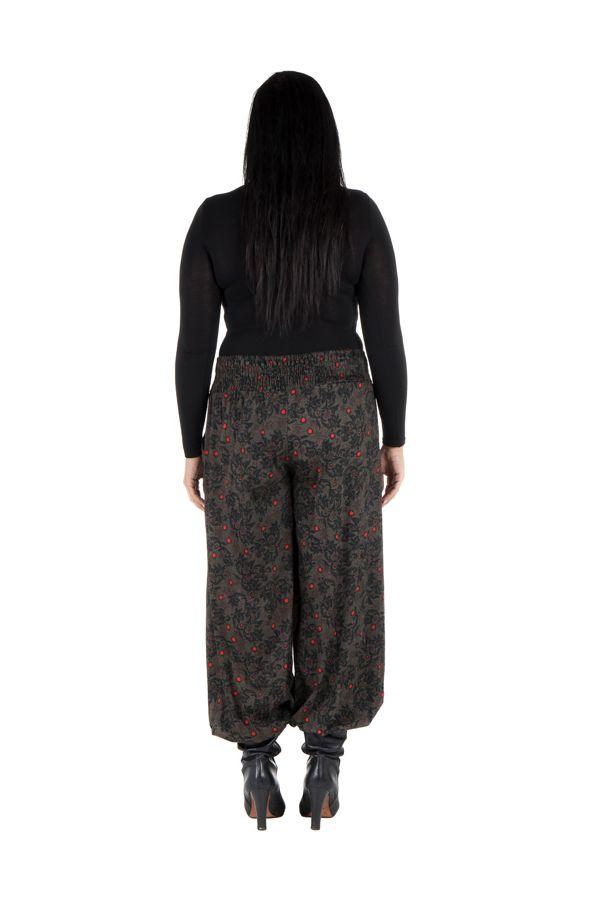 Pantalon hivers grande taille bouffant original et ethnique Rosalia