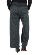 Pantalon hivers grande taille Gris ample et original Stacy 298446