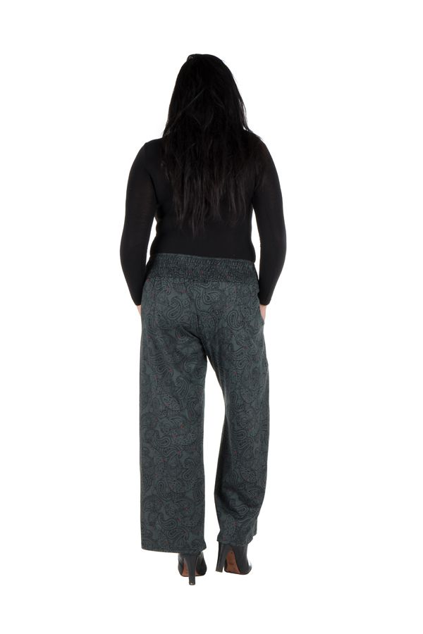 Pantalon hivers grande taille Gris ample et original Stacy 298447