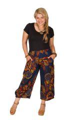 Pantalon imprimé chic pour femme grande taille Theo
