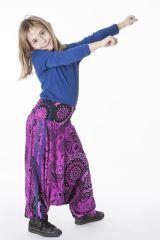 Pantalon imprimé style sarouel original pour enfant 286171