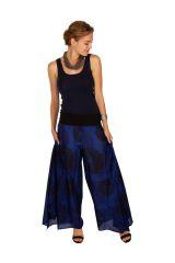 Pantalon imprimé très original à la taille bandeau Kyle 309893