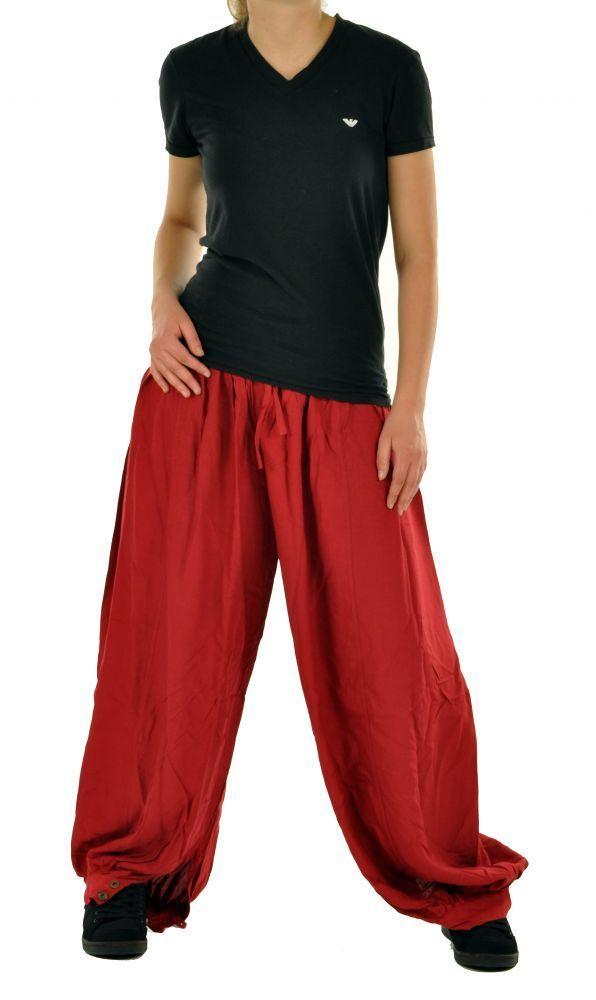 Pantalon large aladin agibs rouge 245138