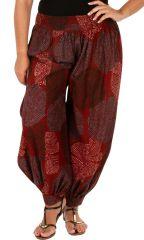 Pantalon large aladin pour femme grande taille Milah