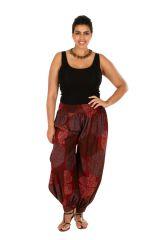 Pantalon large aladin pour femme grande taille Milah 306631