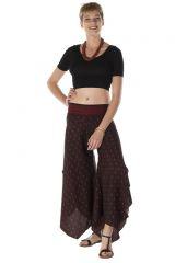 Pantalon large avec des motifs ethnique June 288543