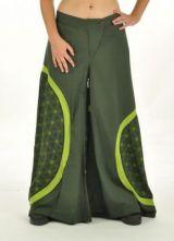 Pantalon large bufly kaki 243397