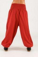 Pantalon large effet sarouel Makoumba