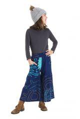 Pantalon large et confortable pour fille original Lorie 302192