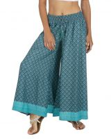 Pantalon large et fluide femme imprimé ethnique John
