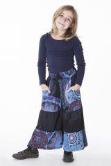 Pantalon large et original pour fille 3-10ans imprimés Lorie 286515