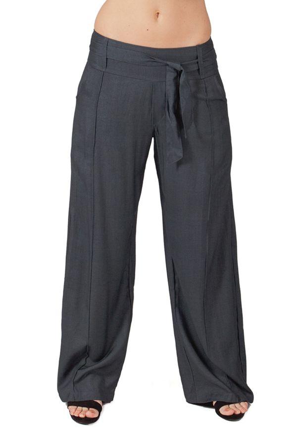 pantalon large ethnique et agreable glenn pour femme gris. Black Bedroom Furniture Sets. Home Design Ideas