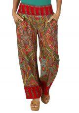 Pantalon large femme ethnique chic Angel 318409